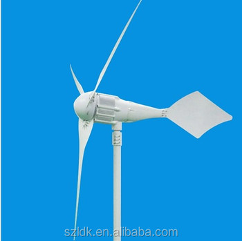 1kw wind turbine 2.2m diameter 5years warranty