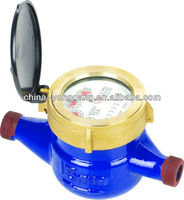 Multi jet dry dial water meter ( cast iron body)
