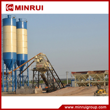 2017 New design HZS 50 concrete admixture mixing plant with price