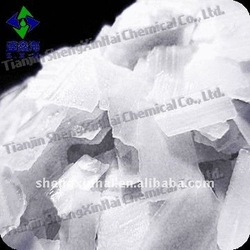 White translucent flake Industrial Grade caustic soda NaOH>=96%