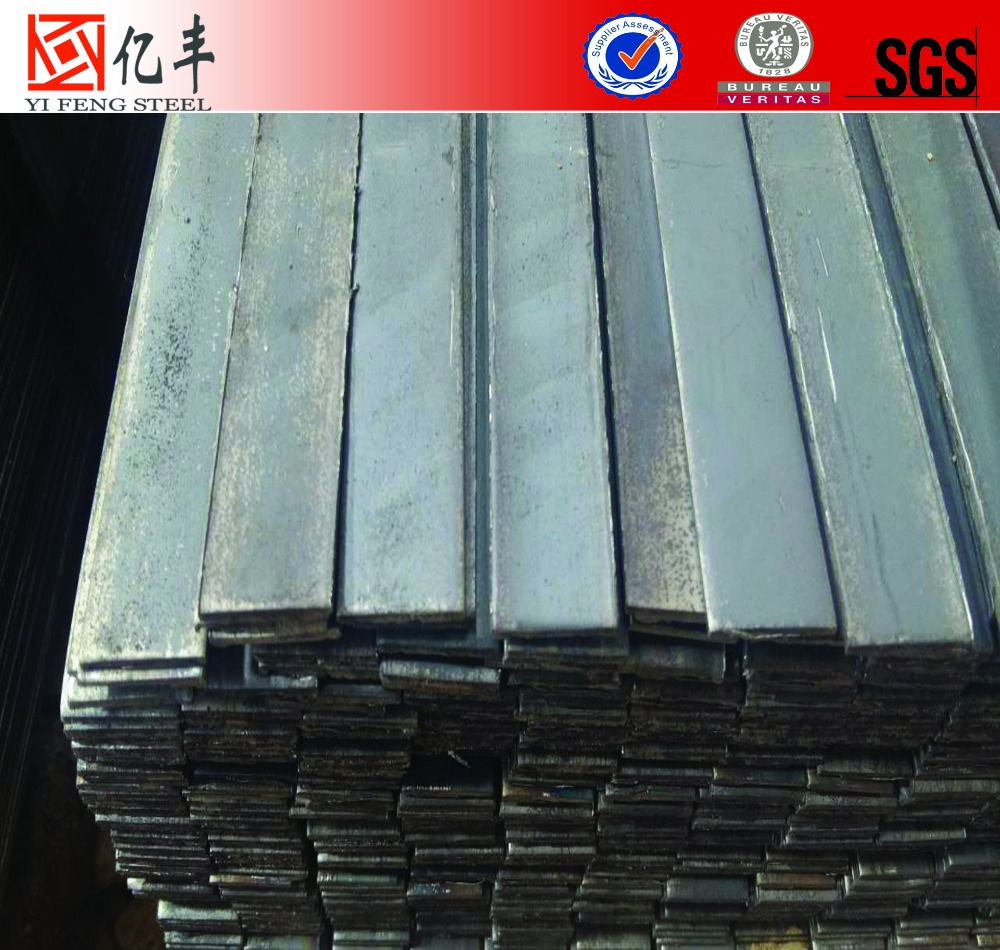 China supplier stock sizes cold cut steel flat pack steel bar