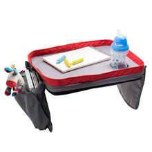Kids Car safety seat travel tray Car Back Seat Organizer children waterproofing the toy Play Lap Tray
