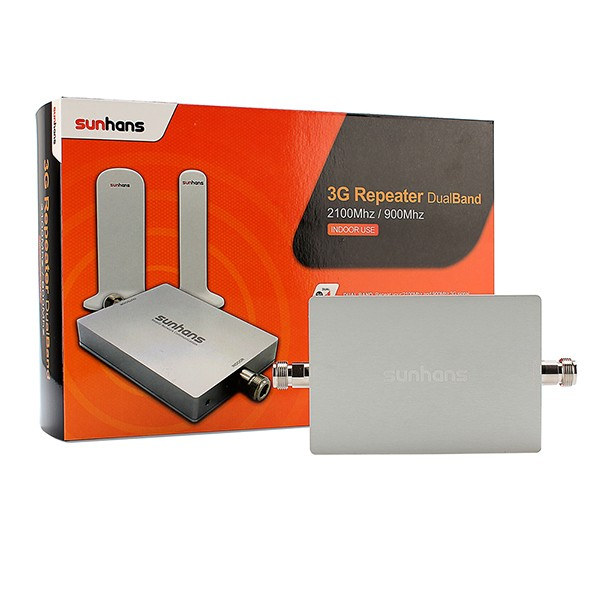 Dual band 900/2100mhz gsm cdma signal booster