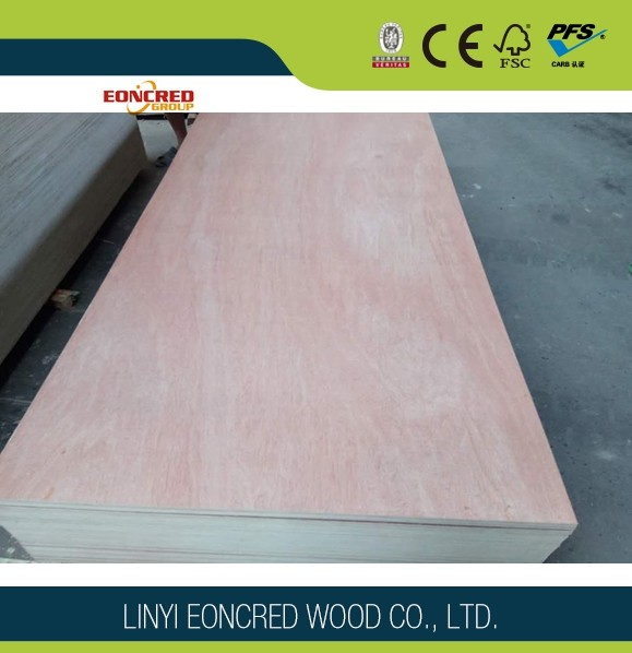 Commercial Laminated Light Weight Plywood /Natural Veneer Plywood