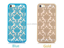 2015 Stylish Retro Palace Hollow Flower PC Phone Back Cover factory make plastic hard case for iphone case china wholesale