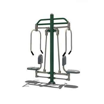China stainless steel fitness equipment playground outdoor body building fitness