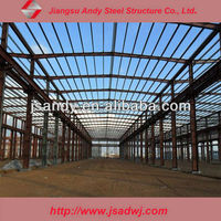 Light Steel Structure Shed for Cattle / Sheep /chicken from China