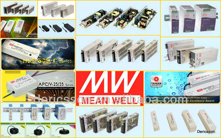 Original MEAN WELL dc dc 700mA Constant Current Dimmable LED Driver module LDD-700H