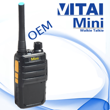 VITAI OEM 1.5W Built-in CTCSS/DCS mini Walkie Talkie for kids