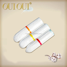 Breathable organic cotton clean point tampon manufacturers in china