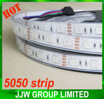 Plastic rgb 2700k 5050 smd led strip ip68 led strip light decorative led strip light