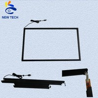 85 inch IR multi touch screen frame with USB 10/20/32 points touch for Windows/Android/Linux/MAC system