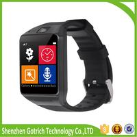 android device GV08 smart watch ios and android wifi wrist watch cell phone led smart watch
