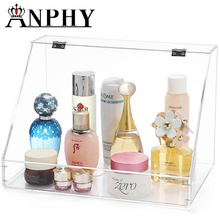 ANPHY C167 High quality clear acrylic makeup case cosmetic box cosmetic case