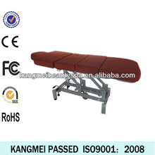 2014 white massage table bed&jade roller massage bed&massage table for leg foot and penis portable (KM-8802)