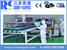 XRGP series PMMA/PS/PC/ABS/PE/PP sheet extrusion line