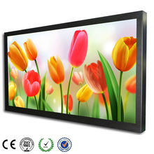 55 inch FHD wall mount LED advertising touch screen video player
