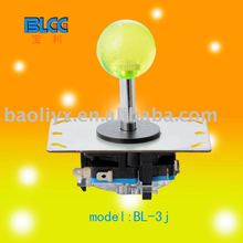 Joystick With Circuit Board & Crystall Ball Top-Arcade Machine Parts-Game Machine Accessory