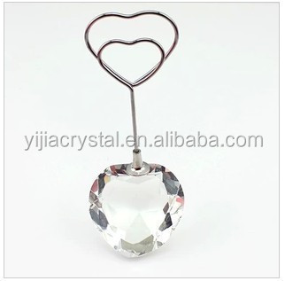 Better Choice Diamond Crystal Card Holder For Feng Shui Gift Favor Or Wedding Souvenir Gifts