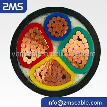 Low voltage xlpe power cable N2XY