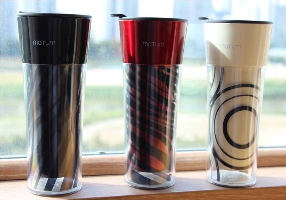 KOREA No.1 MATUM Layered Tumbler (Cup / Coffee Mug / Made in Korea)