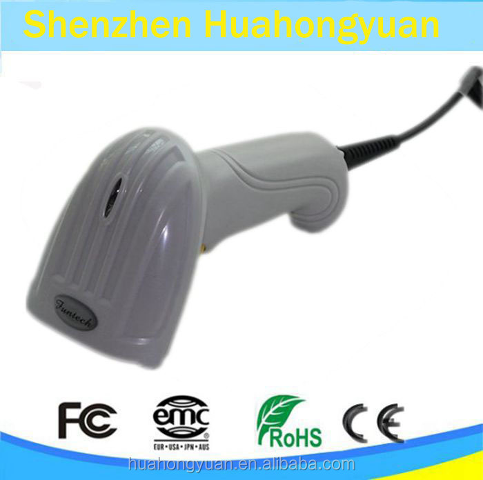 factory supplier1D laser barcode scanner/gun BS004
