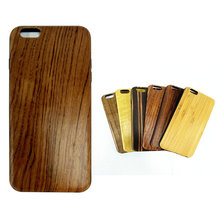 5.7 Inch IMD Best Rose Wooden Mobile Phone Case Back Cover Fancy Mobile Accessories for I Phone 6 Plus