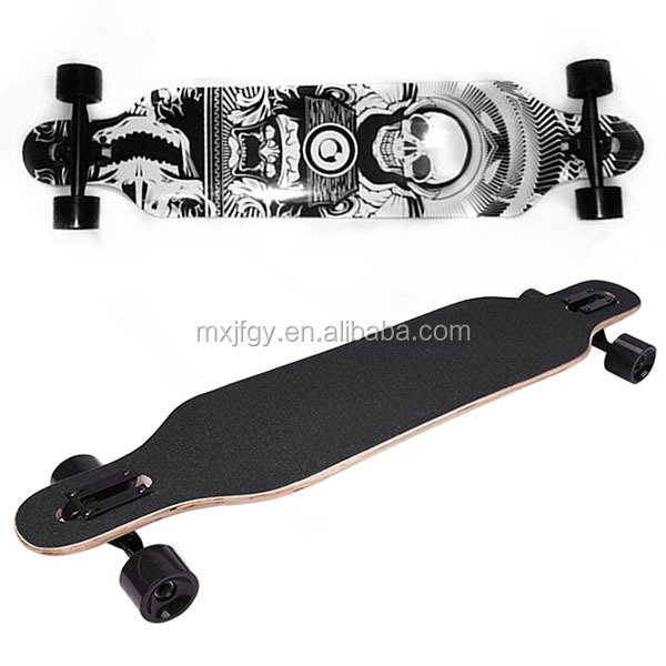 Professional Canadian Maple Skateboard Road Longboard Skate Board 4 Wheel Downhill Street Long Board