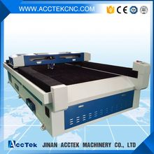 Jinan Acctek laser metal cutting machine for shell/arcylic/crystal with mixed head price