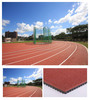 Prefabricated rubber runway track surface for construction of 400meter standard sports stadium
