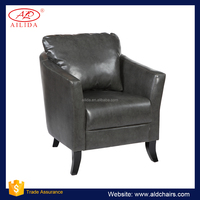 AC-192 Soft Accent Chair With Back Pillow