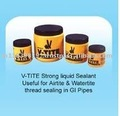 V-TITE Strong Liquid Sealant Useful For Airtile & Watertite Thread Sealing in GI Pipes