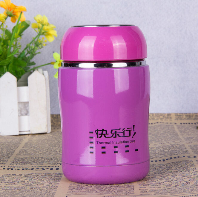 260ml mini thermos vacuum flask thermal insulation cup big thermos china
