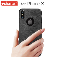 Luxury Squishy Custom TPU Imitation Leather Mobile Phone Case for iPhone X 8 6 6s 5 7 7s 7 plus