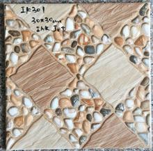 new design 12x12 floor tile red with low price