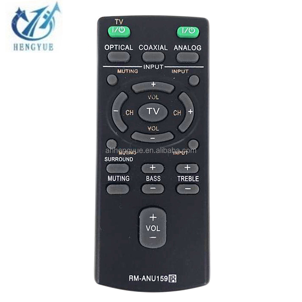 Stock Sound Bar System <strong>Remote</strong> Controller RMANU159 LCD/LED/HD/3D for ANU159 tv <strong>remote</strong> control