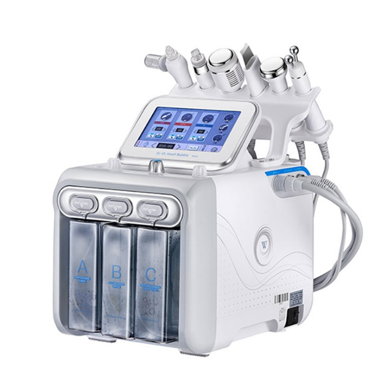 2019 High Quality Skin Care <strong>Device</strong> 6 In 1 H2O2 Hydro Dermabrasion Facial Peel Machine Intraceuticals Oxygen Facial Machine