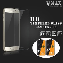 Hot Product 0.26MM 2.5D Tempered glass screen protector for samsung galaxy S6 / Samsung galaxy s6 tempered glass