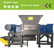 wooden case ,crates plastic double shaft shredding machine for sale
