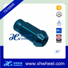 Racing Stud Conversion 14x1.5 Thread Pitch Blue Lug Nuts