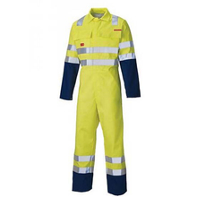 European size 100% cotton flame retardant coverall style garden maintenance workwear uniform
