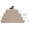 Larger Princess Designer Waterproof Elevated Luxury Memory Foam Dog Bed For Dog