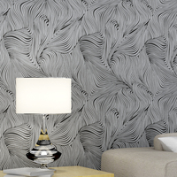 Yien Wallpaper Non-woven wallpaper Contracted abstract style 2016 new 3D design