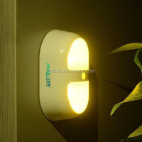 Motion Sensor LED Night Light Plug in Light Used for Children Bedroom Light
