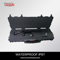 M240 B Machine Gun Case with wheels Sniper Rifle Carrying Case