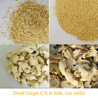 Favorable price dried Ginger slices in bulk, low sulfur(sulfur dioxide NMT30ppm)