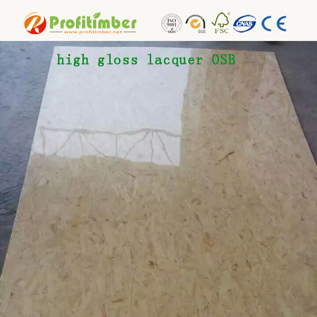 High Gloss Lacquer OSB Panels OSB Board in Sale
