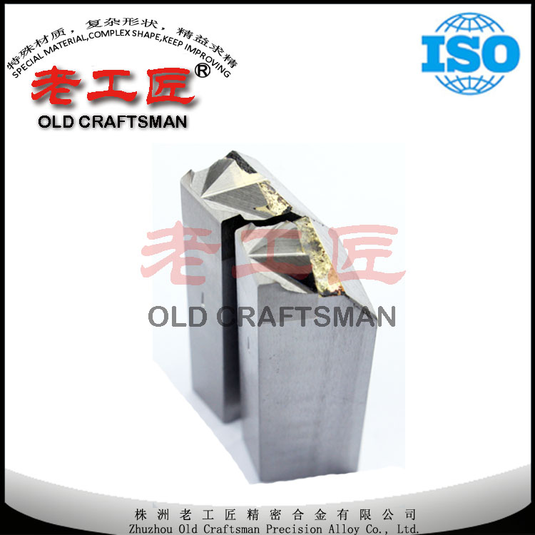Cemented carbide die carbide nail cutter for making steel nails