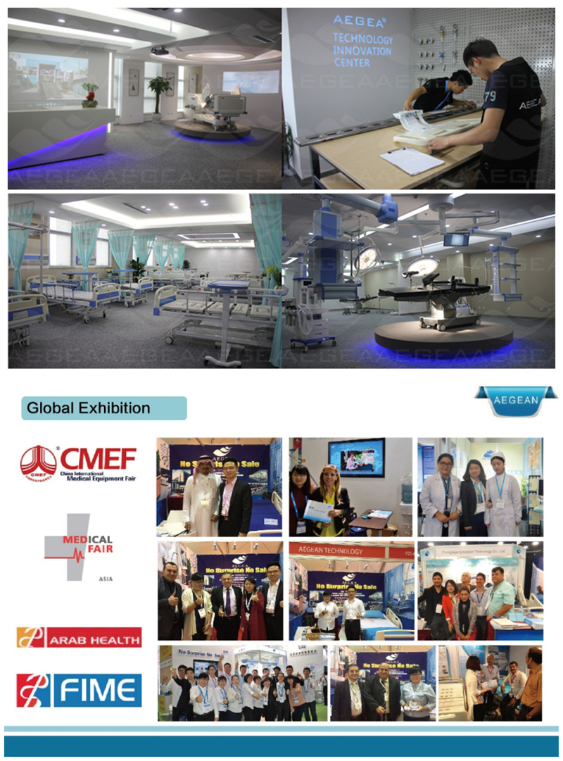 AG-OT019 voltage and input power customized medical operating theater table