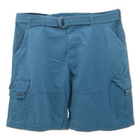 ADULT MEN CARGO SHORTS, HIGH QUALITY 100% COTTON WITH BELT